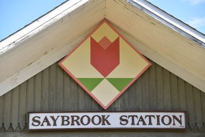 Saybrook Station at Ohio Heritage Farm is a former railroad passenger depot.