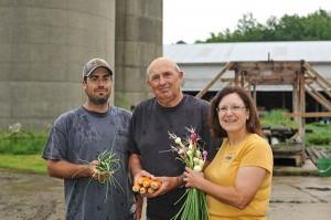 The Prochko family: Steve, Mick and Kay.