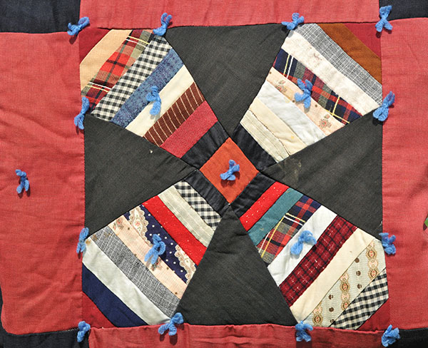 This is the heirloom quilt that inspired Lynn Moore's barn quilt.