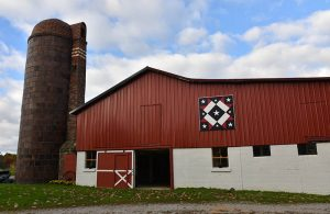 Jefferson Ohio barn quilt.