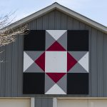 Ohio State barn quilt